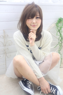 ☆sCene☆ NRレイヤーロング|sCene ESTのヘアスタイル