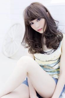 ★sCene★ Sカールロング|sCene ESTのヘアスタイル