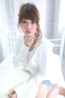 ☆sCene☆ねじりアレンジ|sCene ESTのヘアスタイル