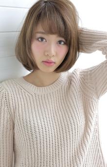 ☆sCene☆ナチュラリーボブ|sCene ESTのヘアスタイル
