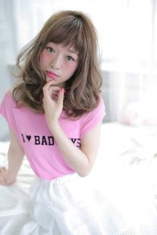 ☆sCene☆弾力カール|sCene ESTのヘアスタイル