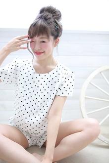 ☆sCene☆お団子アレンジ|sCene ESTのヘアスタイル