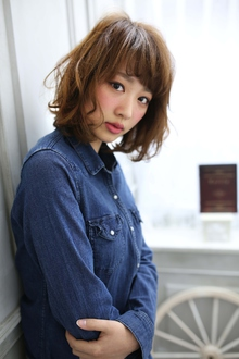 ☆sCene☆フェアリーボブ|sCene ESTのヘアスタイル