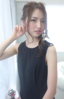 ☆sCene☆ルーズアレンジ|sCene ESTのヘアスタイル