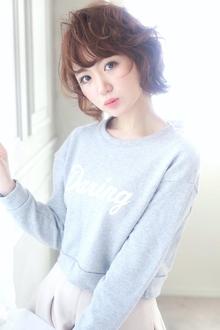 ★sCene★ ラウンドカールBob|sCene ESTのヘアスタイル