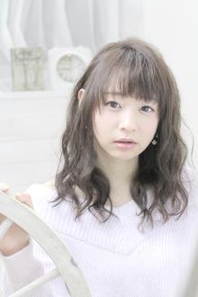 ☆sCene est☆伸ばしかけにパーマスタイル|sCene ESTのヘアスタイル