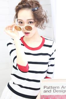 ★sCene★ 編み込みルーズアレンジ|sCene ESTのヘアスタイル