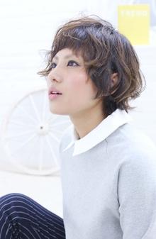 ☆sCene☆ピュアショート sCene ESTのヘアスタイル