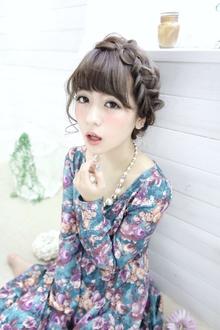 ★sCene★ 太編み込みアレンジ|sCene ESTのヘアスタイル