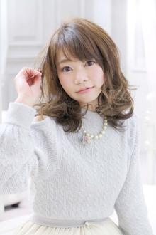☆sCene est☆毛先ハイライトスタイル|sCene ESTのヘアスタイル