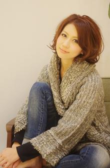 ☆sCene☆カジュアルMIXショート|sCene ESTのヘアスタイル
