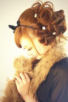 ☆sCene☆パーティーアップ|sCene ESTのヘアスタイル