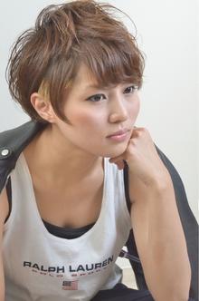 ☆sCene☆スクールボーイ風ベリーショート sCene ESTのヘアスタイル