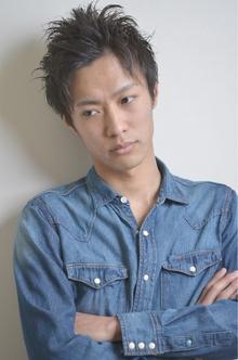 ☆sCene☆ アップバングショート sCene ESTのヘアスタイル