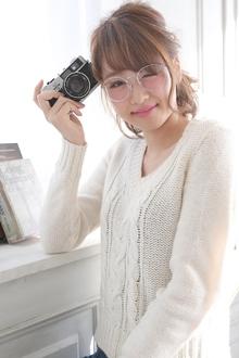 ☆sCene☆くるりんぱアレンジ|sCene ESTのヘアスタイル