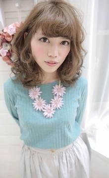 ☆sCene☆柔らかミディアムスタイル|sCene ESTのヘアスタイル