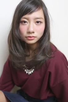 ☆sCene☆ショートバングセミロングSTYLE|sCene ESTのヘアスタイル