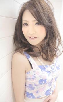 ☆sCene☆セミディー柔らかパーマスタイル|sCene ESTのヘアスタイル