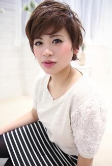 ☆sCene☆メンズライクショート sCene ESTのヘアスタイル