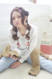 ★sCene★ お羊アレンジ|sCene ESTのヘアスタイル