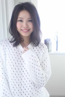 ☆sCene☆ サラふわミディ|sCene ESTのヘアスタイル