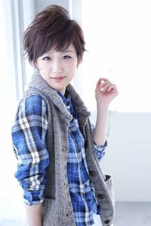 ☆sCene☆ spicy short|sCene ESTのヘアスタイル