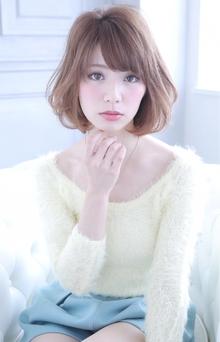 ★sCene★ナチュBob|sCene ESTのヘアスタイル
