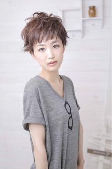 ☆sCene☆ JiLLショート|sCene ESTのヘアスタイル