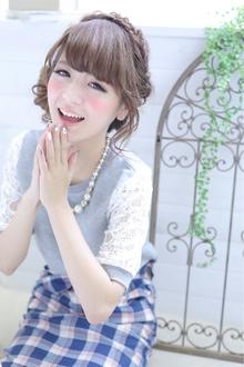 ☆sCene☆フィッシュボーンアレンジ|sCene ESTのヘアスタイル