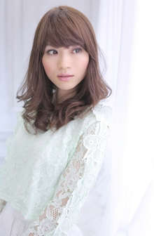 ☆sCene☆ スウィングセミロング|sCene ESTのヘアスタイル