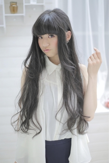 ★sCene est★ 黒髪スーパーロング|sCene ESTのヘアスタイル