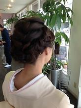 入園式のお母様|First Stage KT air店のヘアスタイル