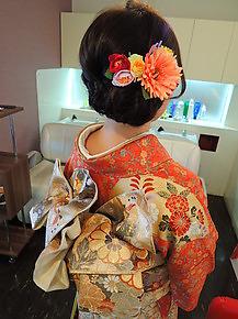 成人式編みこみスタイル|First Stage KT air店のヘアスタイル