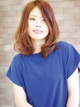 リラックスモード漂うナチュラルウェーブ|ARIREINA 横須賀中央店のヘアスタイル