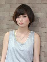 ナチュラリーショートボブ|ARIREINA 横須賀中央店のヘアスタイル