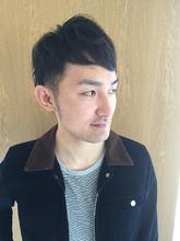 爽やか大人ショート|odd-jobs 庚午店のメンズヘアスタイル