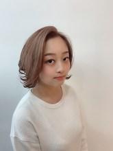 ピンクベージュ|odd-jobs 緑井店のヘアスタイル