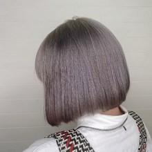 ホワイトグレージュ|odd-jobs mana店のヘアスタイル