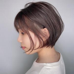 短すぎない丸みショート|odd-jobs mana店のヘアスタイル