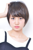 小顔ナチュラルショート|odd-jobs 可部店のヘアスタイル