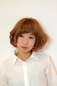 ふんわりショートボブ|odd-jobs KUMのヘアスタイル