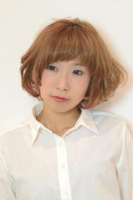 ふんわり可愛いショート|odd-jobs KUMのヘアスタイル