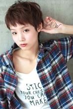 ☆ガーリーマッシュショート|GALLARIA Elegante 春日井店のヘアスタイル