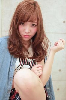 ☆ニュアンスカールセミディ|GALLARIA Elegante 春日井店のヘアスタイル