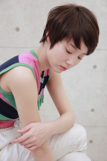 ☆王道コンパクトショート|GALLARIA Elegante 春日井店のヘアスタイル