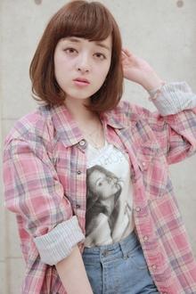 ☆ワンカールパーマボブ|GALLARIA Elegante 春日井店のヘアスタイル