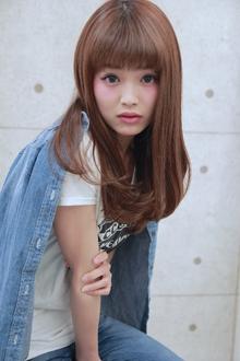 ☆ワンカールストレート|GALLARIA Elegante 春日井店のヘアスタイル