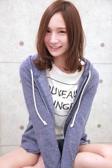 ☆愛されセンターパートミディ|GALLARIA Elegante 春日井店のヘアスタイル