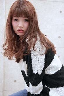 ☆甘めバングナチュラルセミディ|GALLARIA Elegante 春日井店のヘアスタイル