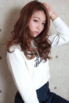 ☆無造作外国人風カール|GALLARIA Elegante 春日井店のヘアスタイル